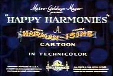 Happy Harmonies Theatrical Cartoon Series Logo