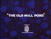 The Old Mill Pond Cartoon Picture
