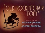 Old Rockin' Chair Tom Cartoon Picture