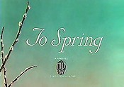 To Spring Cartoon Picture