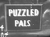 Puzzled Pals Picture Of Cartoon