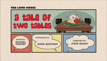 A Tale of Two Tables Cartoon Character Picture