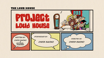 Project Loud House Cartoon Character Picture