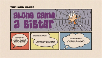 Along Came a Sister Cartoon Character Picture