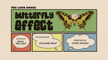 Butterfly Effect Cartoon Character Picture