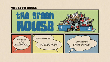 The Green House Cartoon Character Picture