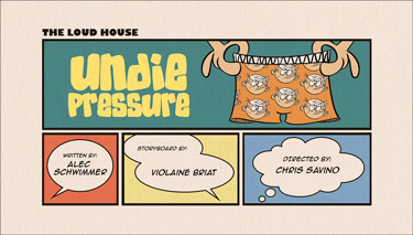 Undie Pressure Cartoon Character Picture