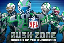 NFL Rush Zone: Season Of The Guardians Episode Guide Logo