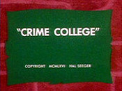 Crime College Free Cartoon Pictures