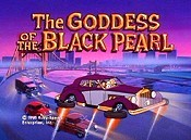 The Goddess Of The Black Pearl Free Cartoon Picture