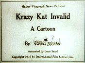 Krazy Kat Invalid The Cartoon Pictures