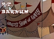 P. T. Barnum Pictures In Cartoon