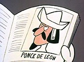 Ponce de Leon Pictures In Cartoon