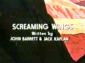 Screaming Wings Cartoon Picture