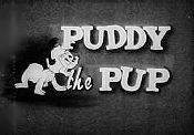 Puddy the Pup Theatrical Cartoon Series Logo