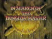 In Search Of The Dungeon Master The Cartoon Pictures