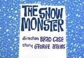 The Snow Monster Cartoon Picture