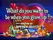 What Do You Wanna Be When You Grow Up? Free Cartoon Pictures
