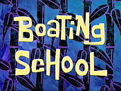 Boating School Cartoon Picture