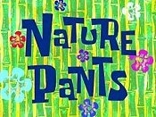Nature Pants Cartoon Picture