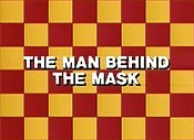 The Man Behind The Mask Cartoons Picture