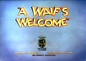 A Waif's Welcome Cartoon Picture