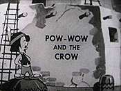 Pow Wow And The Crow Free Cartoon Picture