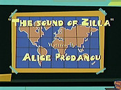 The Sound Of Zilla Cartoon Character Picture