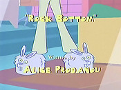 Rock Bottom Cartoon Character Picture