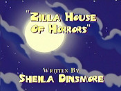 Zilla's House Of Horrors Cartoon Character Picture