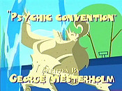 Psychic Convention Cartoon Character Picture
