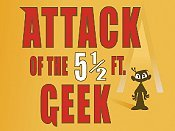 Attack Of The 5 1/2 Ft. Geek Cartoon Picture