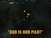 God Is Our Pilot Free Cartoon Picture