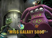 Miss Galaxy 5000 Free Cartoon Picture
