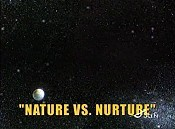 Nature vs. Nurture Free Cartoon Picture