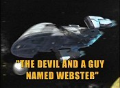 Devil And A Guy Named Webster Free Cartoon Picture