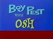 Boy Pest With Osh Free Cartoon Picture