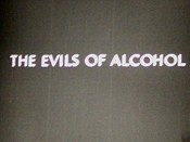 The Evils Of Alcohol Cartoon Picture