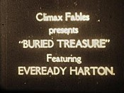 Eveready Harton In Buried Treasure Cartoon Picture