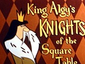 King Algy's Knights of the Square Table (Series) Free Cartoon Picture
