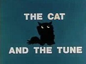 The Cat And The Tune Cartoon Picture