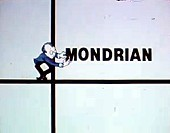 Mondrian Cartoon Picture