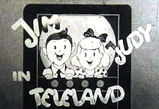 Jim and Judy in Teleland  Logo