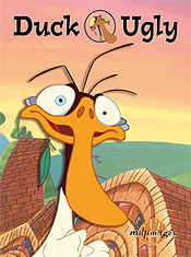 Duck Ugly Cartoon Picture