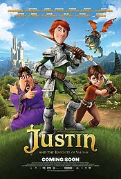 Justin and the Knights of Valour Free Cartoon Picture