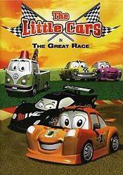 Cartoon Characters Cast And Crew For Os Carrinhos Em A Grande Corrida The Little Cars In The Great Race