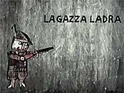 La Gazza Ladra Cartoon Picture