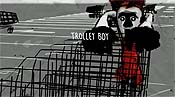 Trolley Boy Cartoon Picture