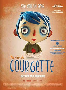 Ma Vie de Courgette (My Life As A Zucchini) Cartoon Character Picture