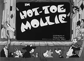 Hot-Toe Mollie Cartoon Pictures